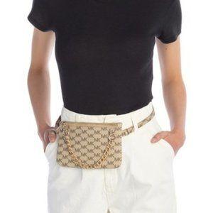 Michael Kors Pull Chain Belt Bag Size M